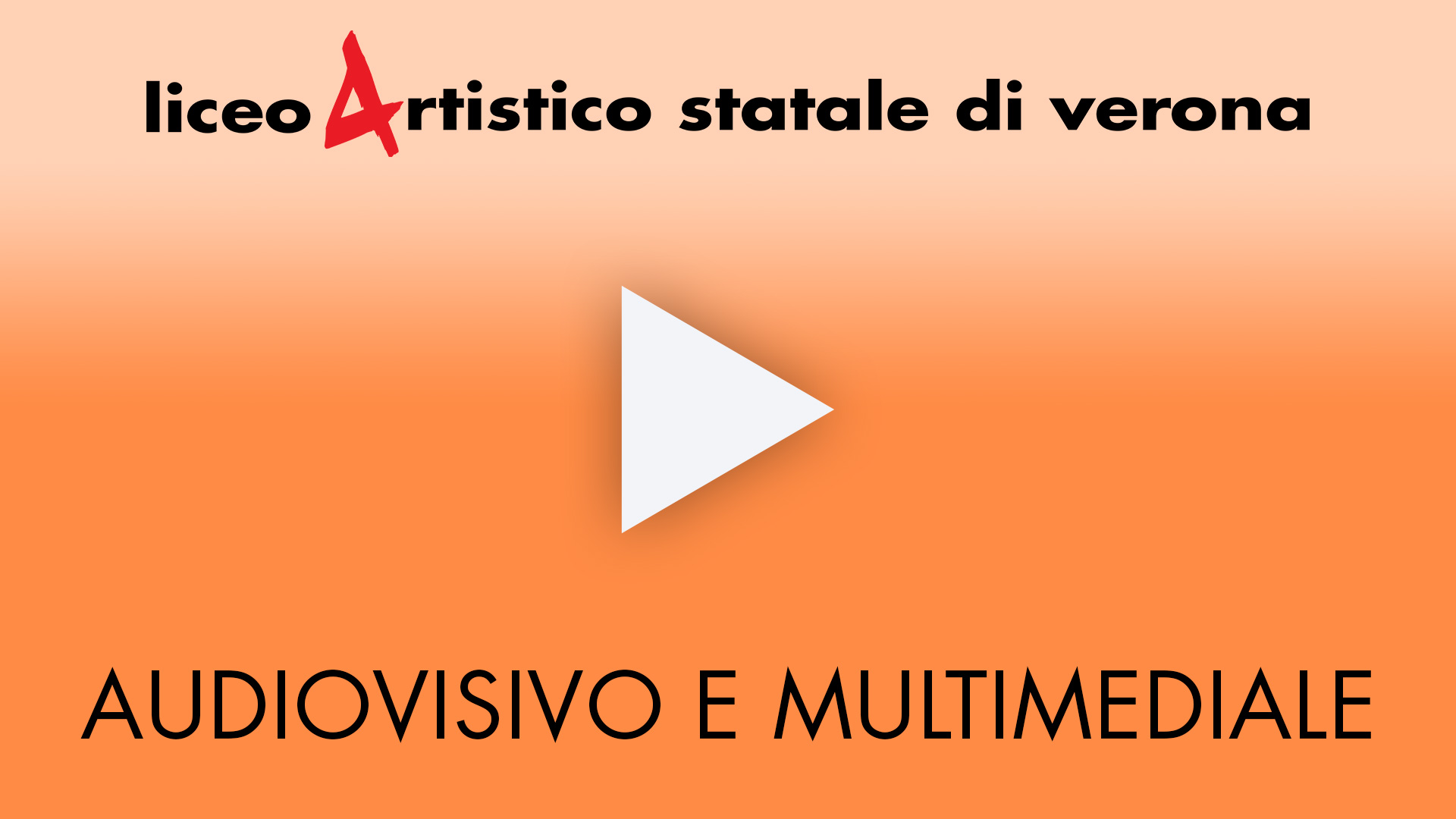 Video per l'indirizzo Audiovisivo e Multimediale